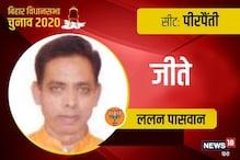 Bihar Election Result 2020 Live: पीरपैंती विधानसभा सीट से BJP की जीत