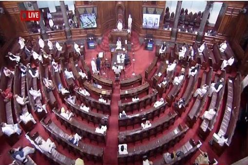 विपक्षी सदस्यों के भारी हंगामे के बीच राज्यसभा ने रविवार को दो प्रमुख कृषि विधेयकों को पारित कर दिया (File Photo)