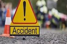 दमोहः सड़क पर बैठी गाय से टकराया पिकअप, 30 मजदूर घायल, 3 गंभीर