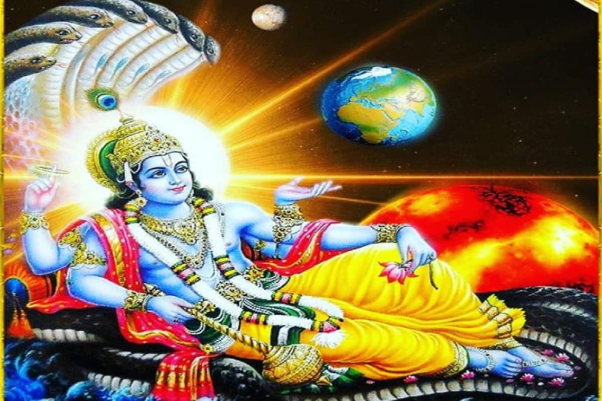 these mantras of lord vishnu can be liberated from financial troubles worship this way pur– News18 Hindi