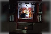 मांउट आबू: भोजन की तलाश में मंदिर आया भालू, नहीं मिला तो बत्ती गुल करके भागा