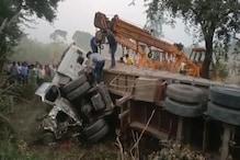 फतेहपुर में तेज रफ्तार ट्रक ने रोडवेज बस को मारी टक्कर, 12 यात्री घायल