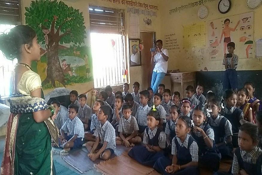 वर्धा के सरकारी स्कूल ने महात्मा गांधी से ली प्रेरणा, तैयार किया अनूठा उपक्रम