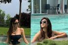 श्वेता तिवारी और उनकी बेटी पलक की Swimming Pool मस्ती, पहली बार दिखा ये अंदाज