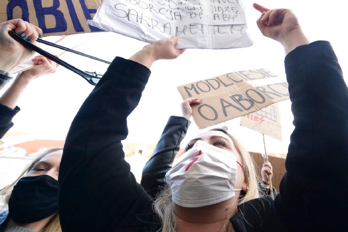 Poland Abortion Protest