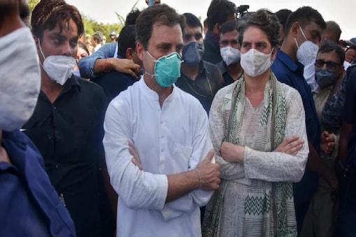 पीड़ित परिवार से मिलने आज फिर हाथरस जाएंगे कांग्रेस नेता राहुल गांधी.