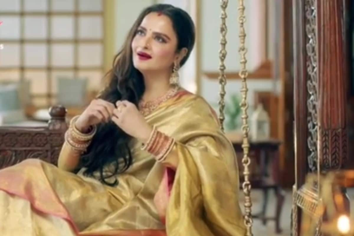 Rekha, Jhum Hi Kisi Ki Par Mein, TV, Social Media, Viral Video, Rekha TV Debut, Bollywood, TV Serial Jhum Hi Kisi Ki Pyaar Mai, Jhum Hi Kisi Ki Par Mee Promotion Video, News 18, Network 18, Rekha, Missing Hi Ki Pier Ke I, TV, Social Media, Viral Video, Rekha Ka Tawate Debut, Bollywood, TV Serial Missing Kisi Ki Peer, Missing Koi Peer Meng Ka Promotional Promotion, News18, Network 18