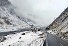 हिमाचल में बर्फबारी: रोहतांग और लाहौल स्पीति में ताजा हिमपात, देखें, शानदार PHOTOS