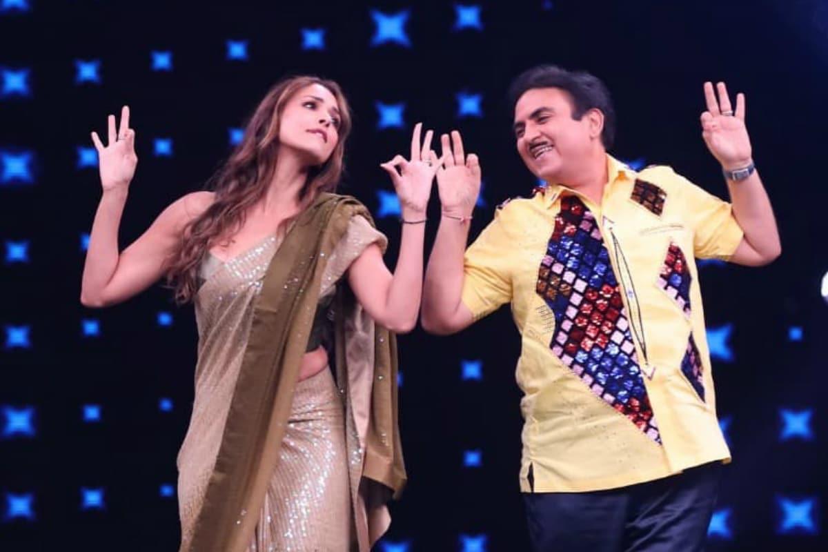 Taarak Mehta Ka Ooltah Chashmah, Jethalal, Babita ji, Malaika Arora, Jethalal Dance with Malaika Arora, social media, virla news, tv, news 18 hindi