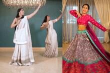 धनश्री वर्मा का नवरात्रि पर दिखा ट्रेडिशनल अवतार, 'परी हूं मैं' पर किया गरबा