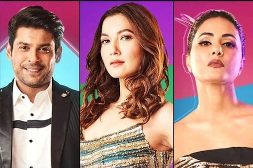 सिद्धार्थ शुक्ला, हिना खान, गौहर खान.