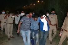 UP: पुलिस और बदमाशों के बीच हुई मुठभेड़, 25 लाख की अवैध शराब बरामद