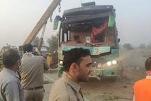 अलीगढ़ हाईवे पर भीषण सड़क हादसा, 3 की मौत, सीएम योगी ने जताया शोक