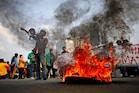 PHOTOS: इंडोनेशिया में श्रमिकों को लेकर नया कानून लागू, देशव्यापी प्रदर्शन शुरू