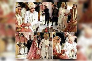 काजल अग्रवाल ने गौतम किचलू का हाथ थामकर लिए सात फेरे, शादी की तस्वीरें वायरल