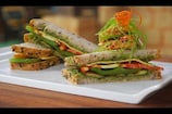 Grilled Veg Pesto Sandwich Recipe: ग्रिल्ड वेज पेस्तो सैंडविच का लें मजा...