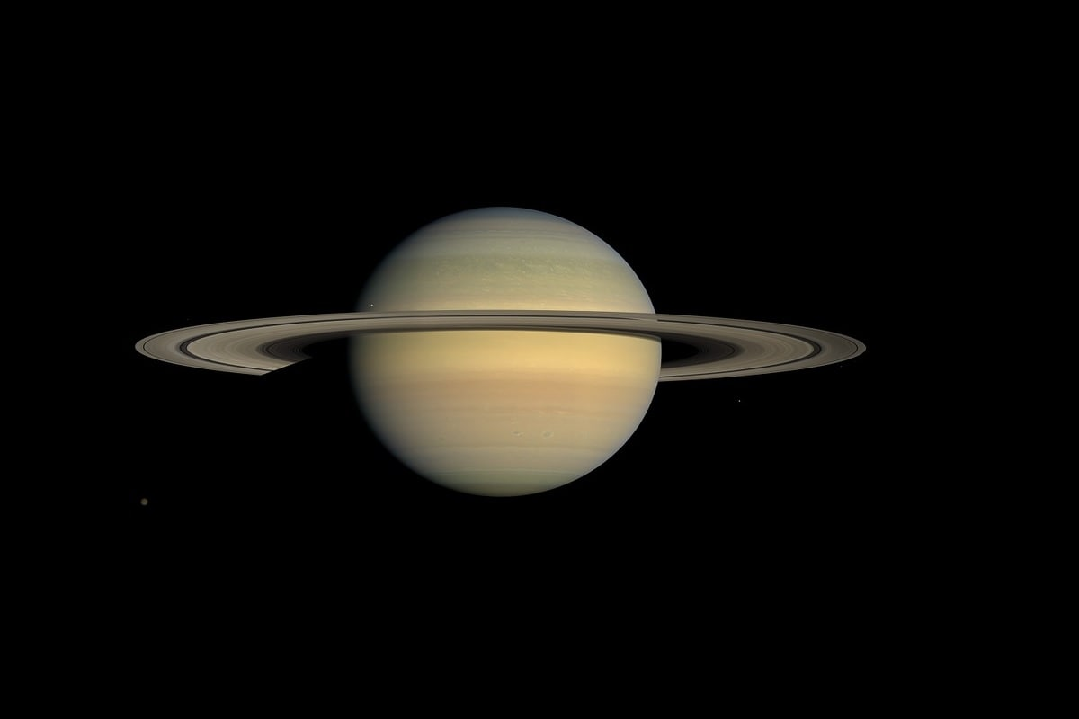 Saturn, Storm, Solar system,