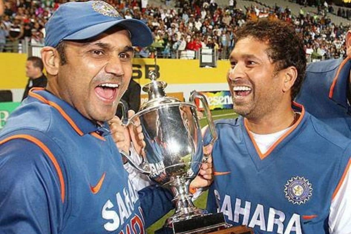 On the birthday of Sehwag, Sachin Tendulkar congratulated