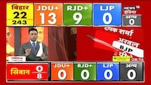 Bihar Election Result: शुरुवाती रुझानों में NDA और महागठबंधन में बराबरी की टक्कर