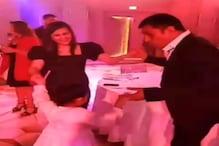धोनी ने पार्टी में जमकर किया डांस, पत्नी साक्षी और बेटी जीवा ने भी लगाए ठुमके