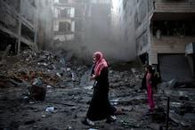 गाजा पट्टी से रॉकेट दागे जाने के बाद इजराइल ने हमास के ठिकानों पर किए हमले
