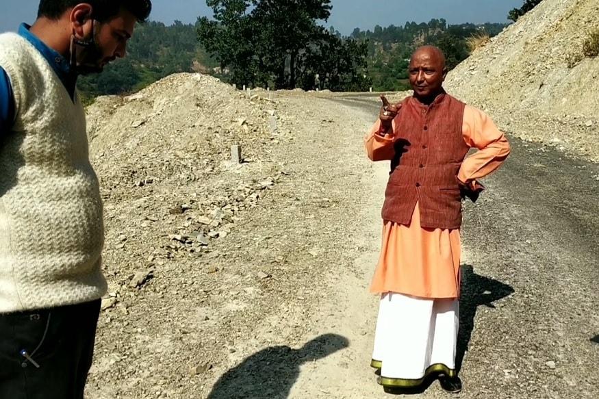 PHOTOS: सड़कों की खराब क्वालिटी देख अफ़सरों पर भड़के लैंसडौन विधायक दिलीप रावत 13
