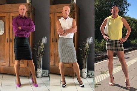 मार्क की तस्वीरों ने यूनिसेक्स कपड़ों और अन्य परिधानों को लेकर नये सिरे से बहस छेड़ दी है (फोटो क्रेडिट- Mark Bryan, Pinterest)