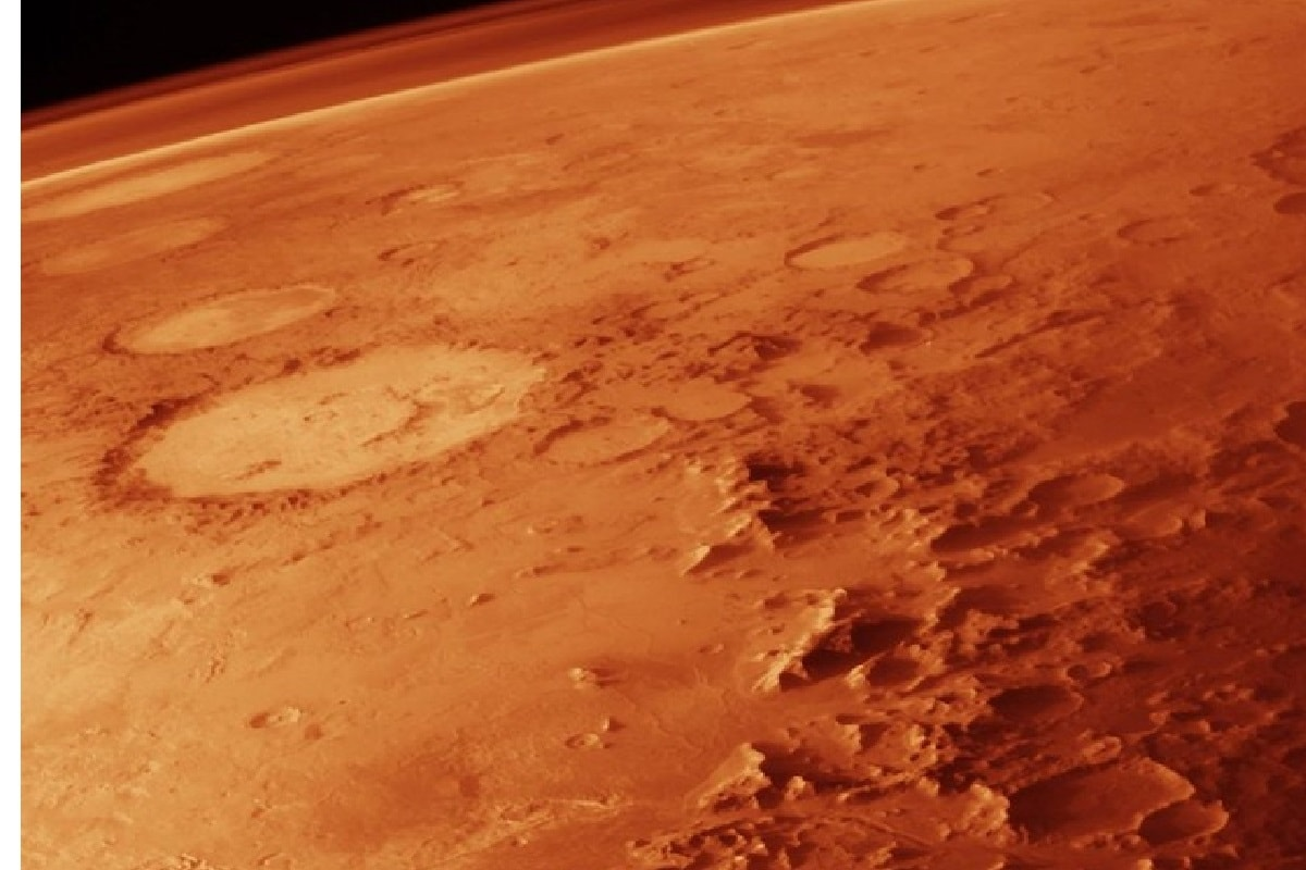 Water on Mars, Mars Atmosphere, Dust storm, summer season of mars