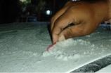 Rajasthan weather update: माउंट आबू में पारा पहुंचा जमाव बिन्दु पर, बर्फ जमी