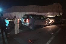 तेज रफ्तार SUV की ट्रक से टक्कर, दुर्घटना में पति-पत्नी समेत 3 की मौत, 2 घायल