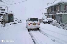 हिमाचल में येलो अलर्ट: केलांग में माइनस में पारा, 4 दिन भारी बारिश-बर्फबारी