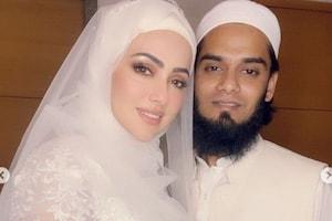 सना खान ने पति मुफ्ती अनस के साथ शेयर की नई फोटो, 'हलाल लव' की तारीफ में कही ये बात...