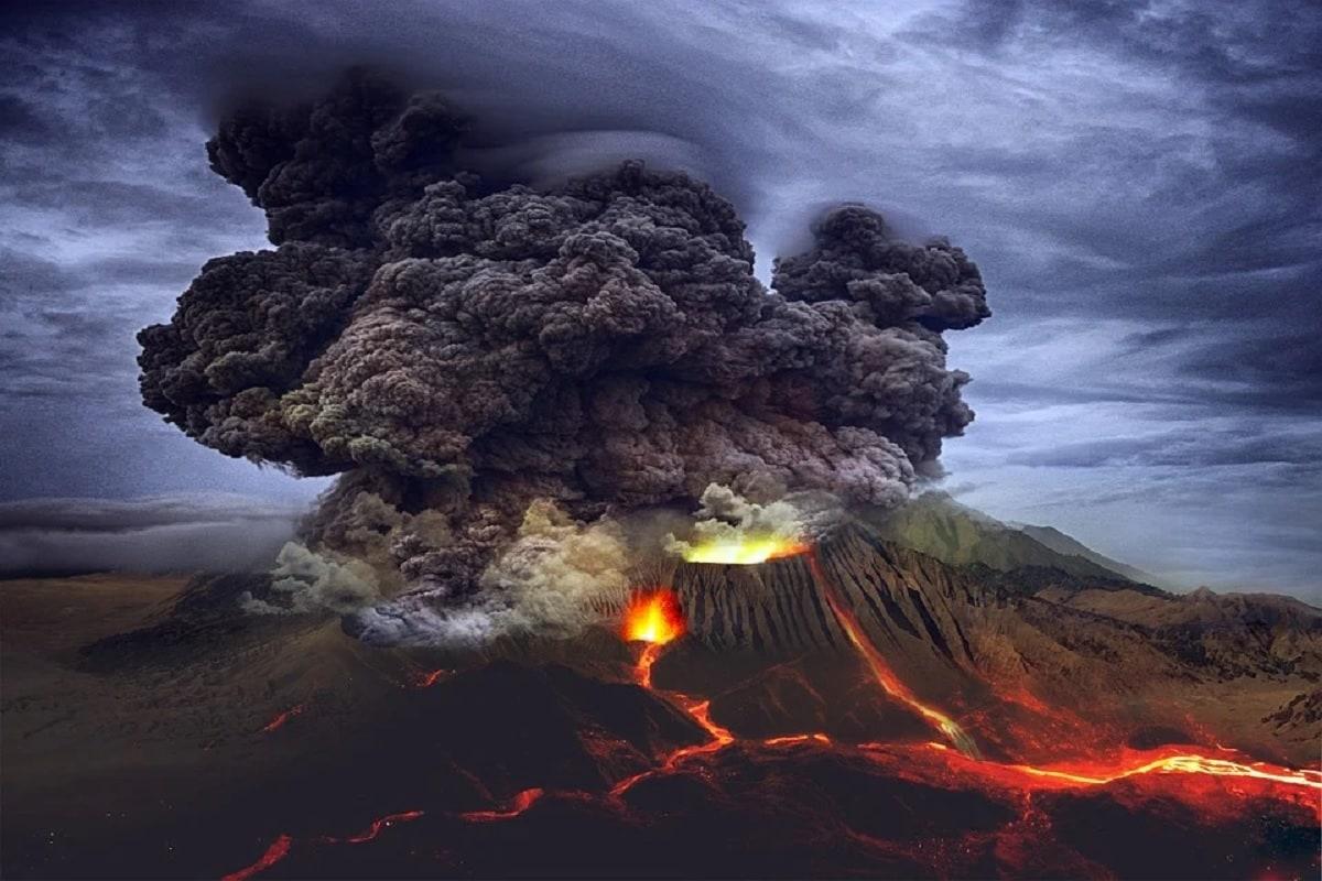 Volcanos, volcano eruptions, volcanic emissions,