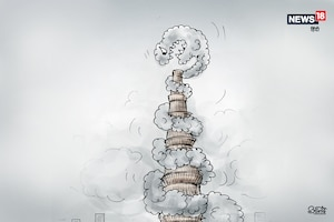 कार्टून कोना : स्मॉग की गिरफ्त में दिल्ली