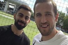 इंग्लिश फुटबॉलर ने मांगी RCB में जगह तो कोहली ने बताया- टीम में उनका काम