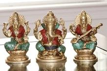 यहां मिल रहीं सबसे सस्ती मूर्तियां, 12 रुपये में खरीदें लक्ष्मी-गणेश