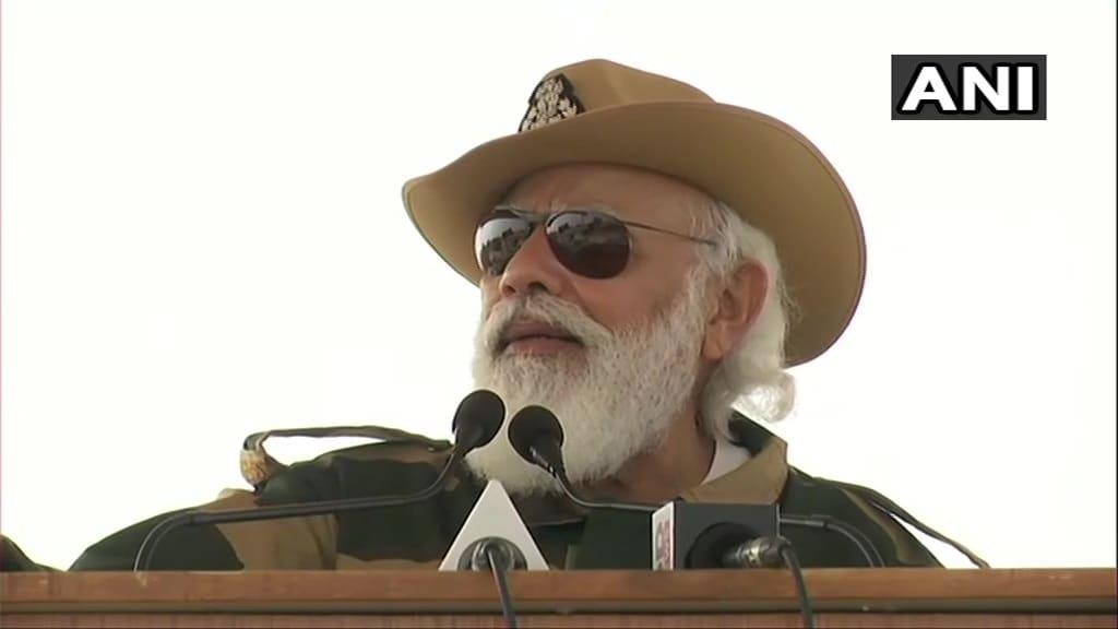 इससे पहले प्रधानमंत्री नरेन्द्र मोदी ने लोंगेवाला चौकी पर जवानों को संबोधित किया. उन्होंने कहा कि अगर भारत को आजमाया गया तो 'प्रचंड जवाब' मिलेगा.