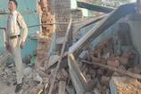 मुरैना के जीगनी गांव में घर में भीषण विस्फोट, पति-पत्नी और बच्चे की मौत