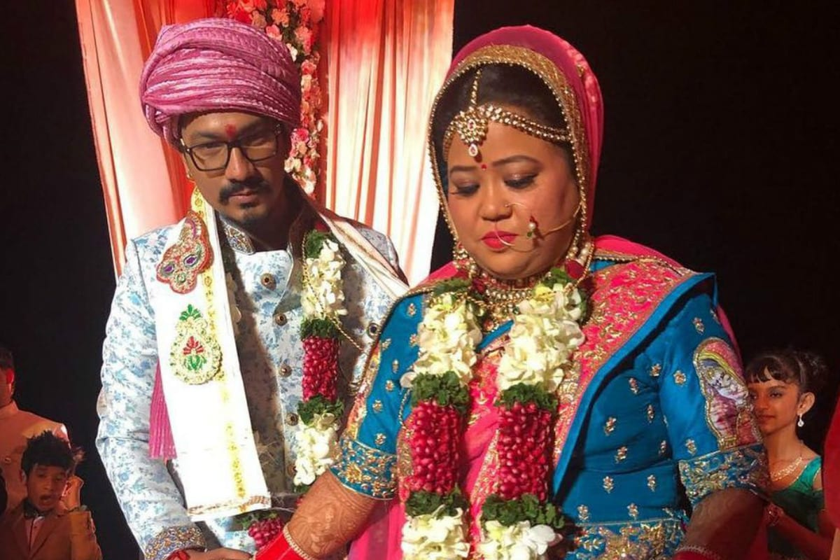 Bharti Singh, Haarsh Limbachiyaa, Bharti Singh 3 year Wedding Anniversary, social media, viral news, tv, news 18 hindi