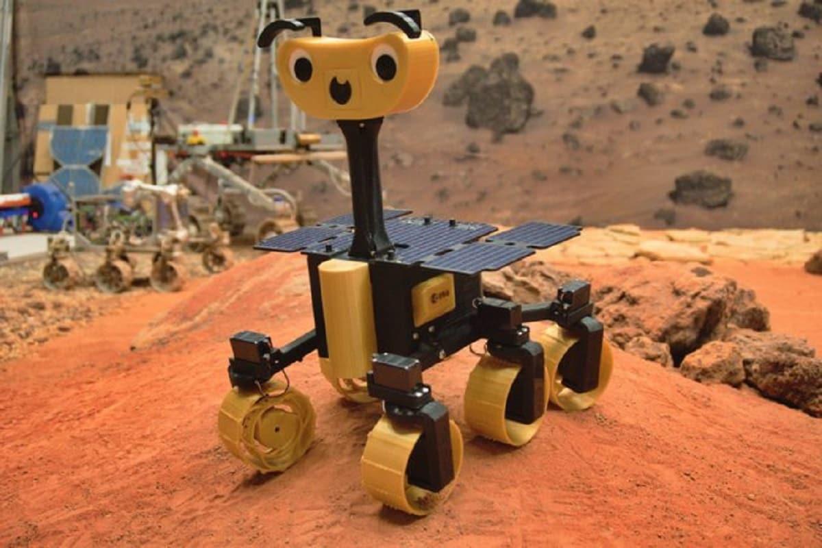 Space, Mars, ESA, ExoMy, ExoMars rover, 3 D Printer, NASA,