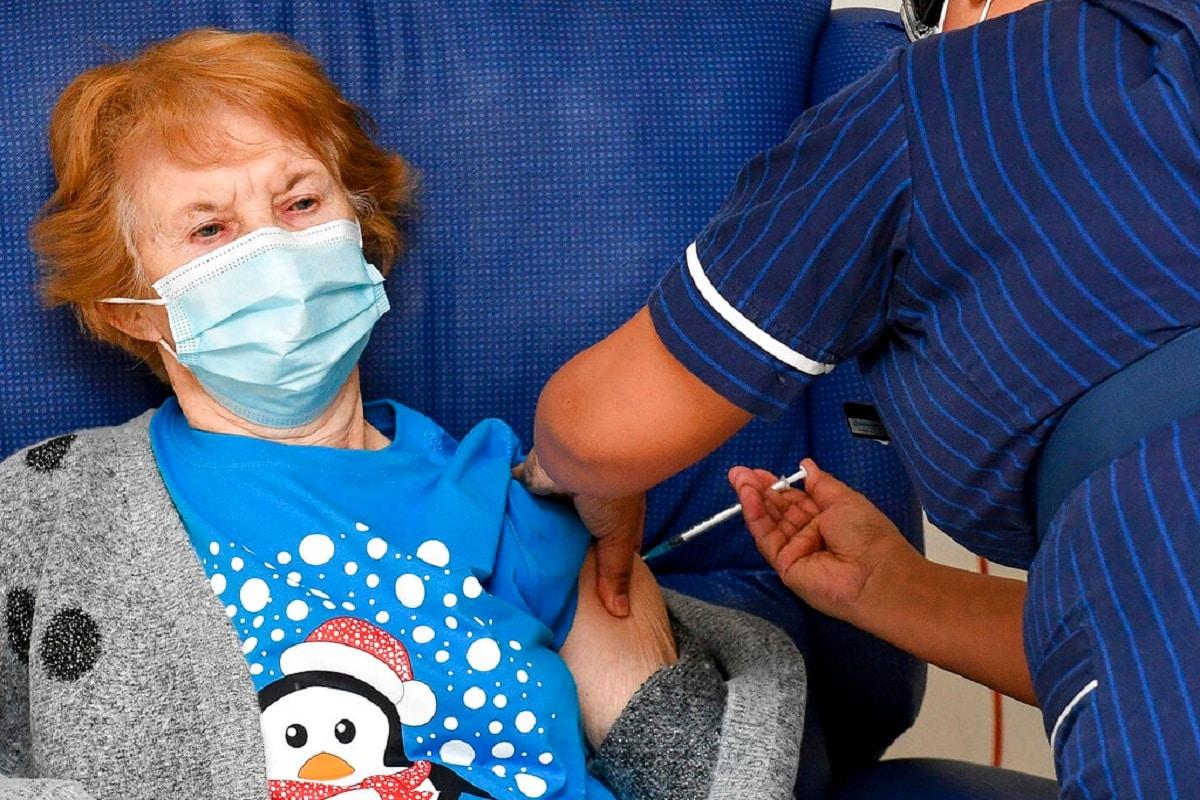 Margret Keenan, First Vaccination, Pfizer Biontech