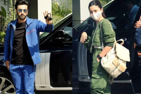 Ranbir Kapoor and Alia Bhatt (Photo Credit- Viral Bhayani)