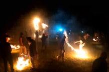 PHOTOS: उत्तरकाशी के गांवों में बग्वाल की धूम, भेलो खेलकर और पारंपरिक नृत्य कर मनाया जा रहा दो दिन का उत्सव