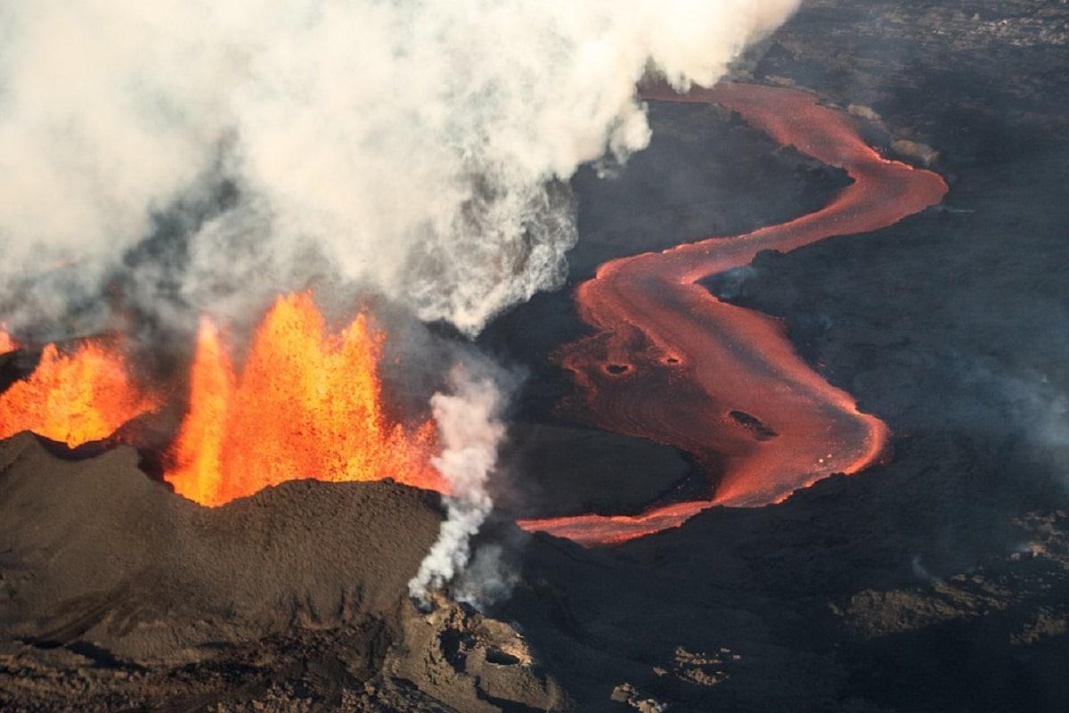 Volcano, Volcanic Eruptions, Lava, Crystals, Lava, Hawaii,