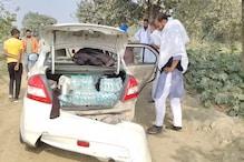 PHOTOS: किसान आंदोलन में जा रहे हरियाणा के युवकों की कार नहर में गिरी, दो बचे, एक बह गया
