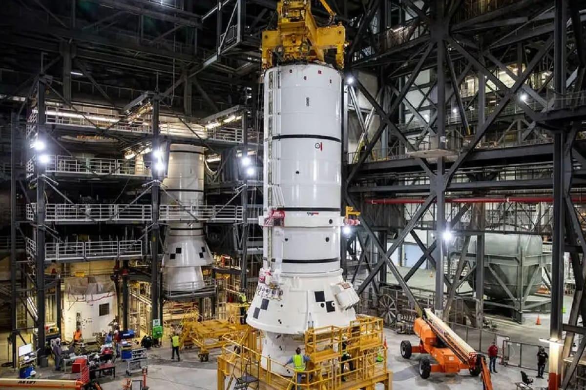 NASA, Moon, Artemis Mission, SLS, SLS Rocket, Space Launch System, Hot test,
