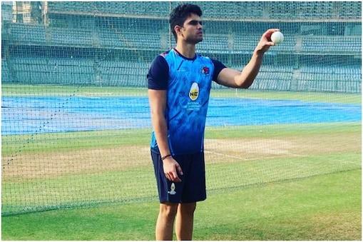 IPL Auction 2021: अर्जुन तेंदुलकर को मुंबई इंडियंस ने 20 लाख रुपये में खरीदा है (Arjun Tendulkar/Instagram)