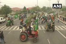 कृषि कानून के खिलाफ किसानों ने निकाली ट्रैक्टर रैली, देखें- Photos