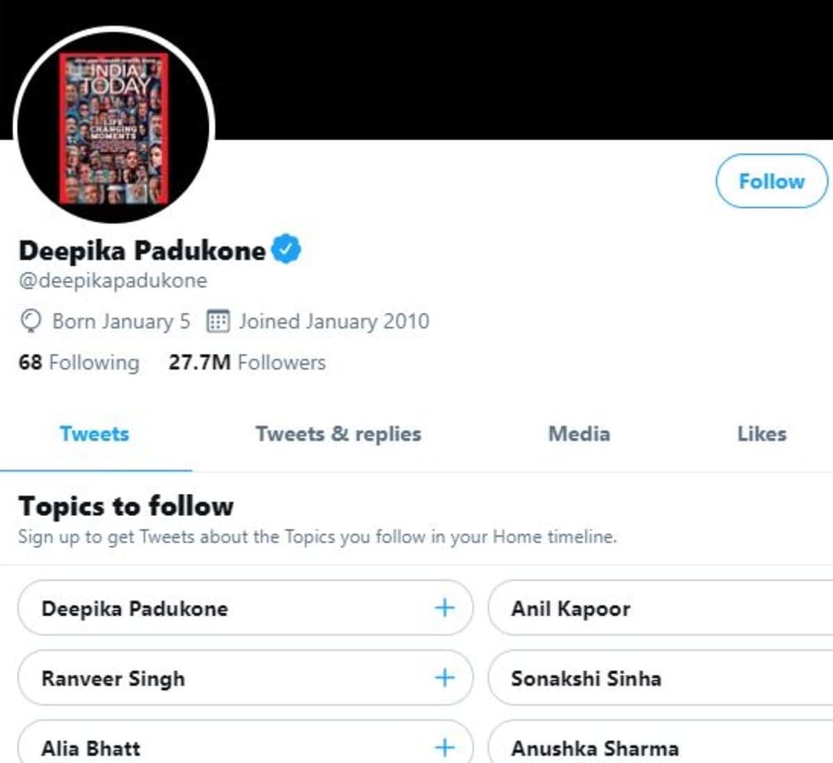 Deepika Padukone, Deepika Padukone all Social Media posts deleted , Facebook, Twitter, Instagram, Bollywood, News 18, Network 18, Viral posts, दीपिका पादुकोण , दीपिका पादुकोण ने डिलीट किए सारे पोस्ट,  फेसबुक, ट्विटर, इंस्टाग्राम, बॉलीवुड, न्यूज18, नेटवर्क 18, वायरल पोस्ट