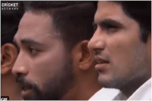 Ind vs Aus, 3rd Test: मोहम्मद सिराज की आंखों से छलके आंसू (@cricketcomau/Twitter)